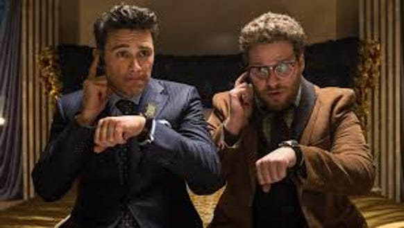 "James Franco and Seth Rogen star in ""The Interview."""