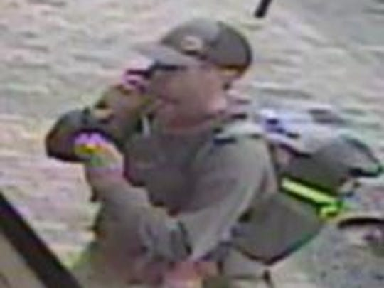 The Tempe Police Department is looking for this suspected bank robber.