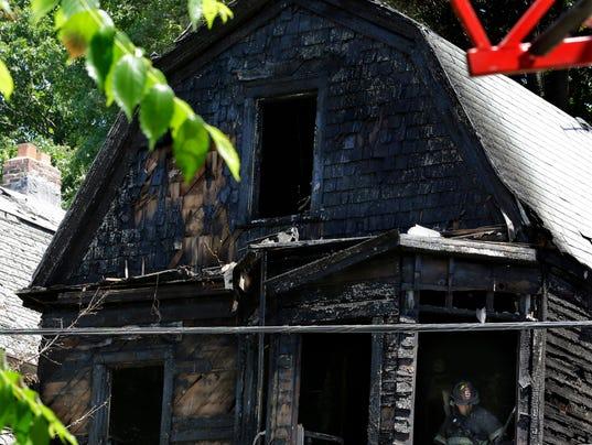 AP APTOPIX Deadly New Jersey Fire