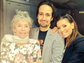 Eva Longoria (R) hangs out with the legendary Rita