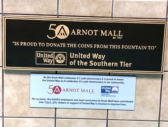 The Arnot Mall and United Way of the Southern Tier