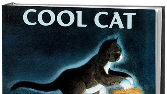 """Cool Cat"" by Nonny Hogrogian, Roaring Book, 2009."