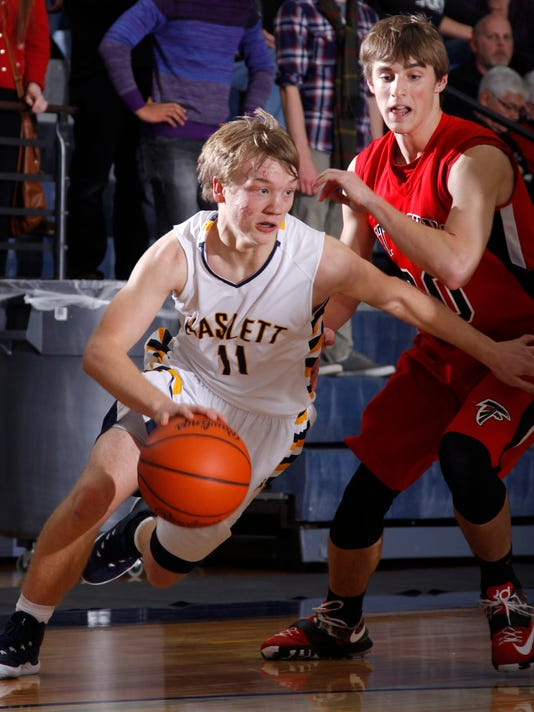 St. Johns at Haslett Boys High School Basketball