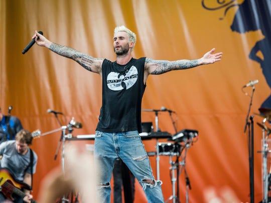 Maroon 5 will perform at Talking Stick Resort Arena