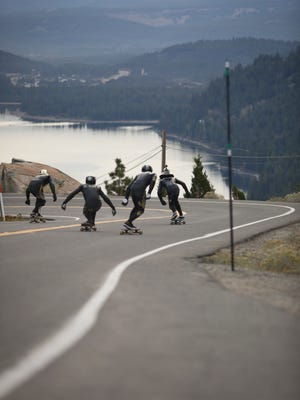 Some of the top longboarders will race down Donner pass in September.