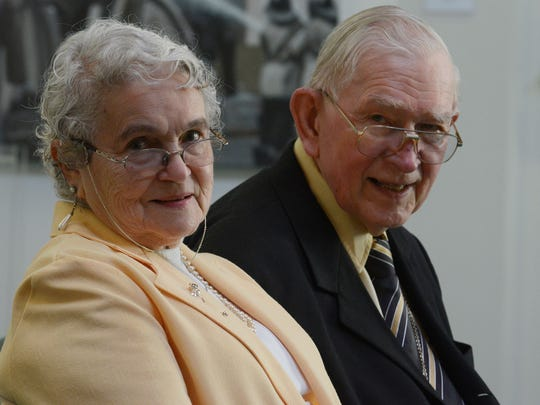 Rev. Robert Graetz and his wife Jeannie Graetz in Montgomery on Wednesday.