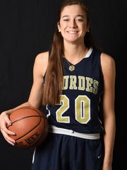 Maddy Siegrist from Our Lady of Lourdes High School is the Poughkeepsie Journal Girls Basketball Player of the Year.