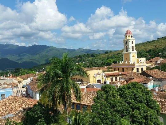 Trinidad, Cuba, is seen here during a trip that Cameron