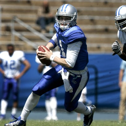 Austin Grammer started all 12 of MTSU's games last