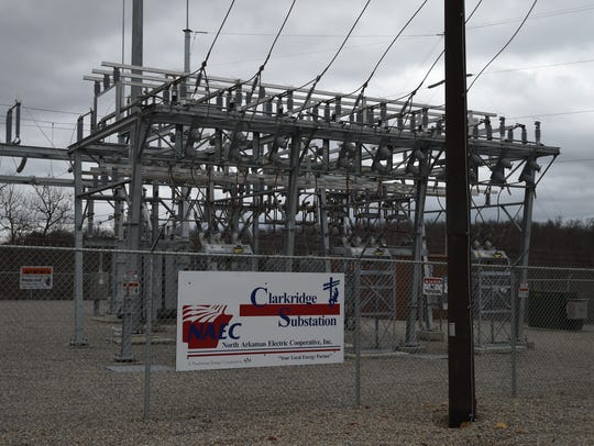 The Clarkridge Substation is the newest electrical