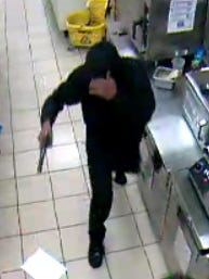 Two armed men robbed one Lehigh Acres 7-Eleven late Sunday and were thwarted at a Mobil gas station Monday morning.