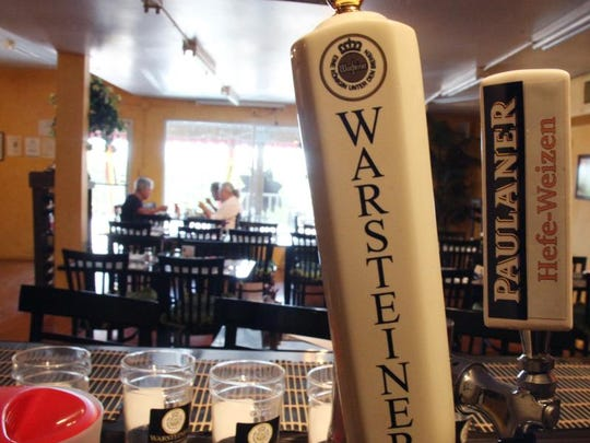 Heidi's Island Bistro on Fort Myers Beach serves a variety of German beers on tap.
