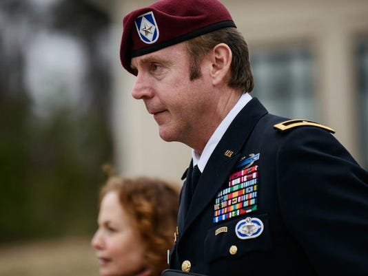 Army General Sex Charges