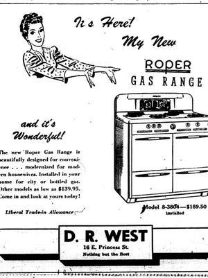 1948 appliance ad