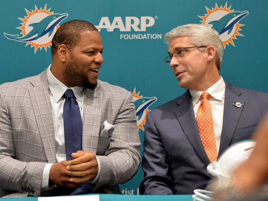 NFL: Miami Dolphins-Press Conference