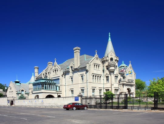 The American Swedish Institute is a historic house,