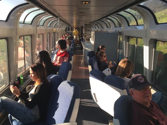 Amtrak s coast starlight america s most beautiful train ride for Back bar sofa san jose