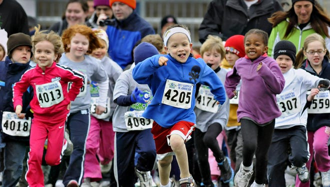 The coalition known as BLEND (Better Living: Exercise & Nutrition Daily) is made up of doctors, business leaders, parents, local public health, cities and school districts. It works within our community to promote health through events like this 1K youth run.