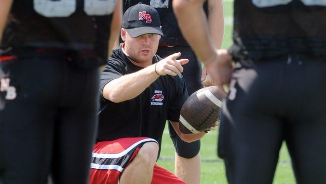 Brandon Allen was North Buncombe's head football coach for the 2011 season.