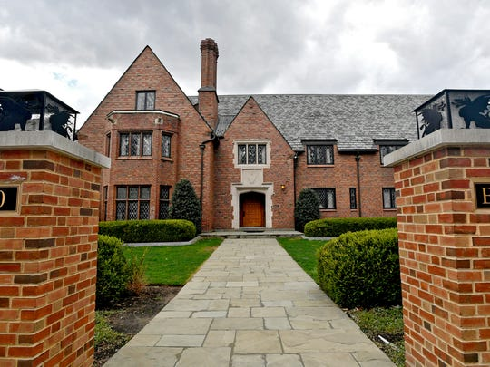 FILE – In this April 4, 2017, file photo, Penn State University's former Beta Theta Pi fraternity house on Burrowes Road sits empty after being shut down in State College, Pa. Members of Penn State University's now-shuttered Beta Theta Pi fraternity chapter are due in court Monday, June 12, 2017, for a hearing on charges related to the Feb. 4, 2017, death of 19-year-old Tim Piazza, of Lebanon, N.J., after a night of heavy drinking. (Abby Drey/Centre Daily Times via AP, File)