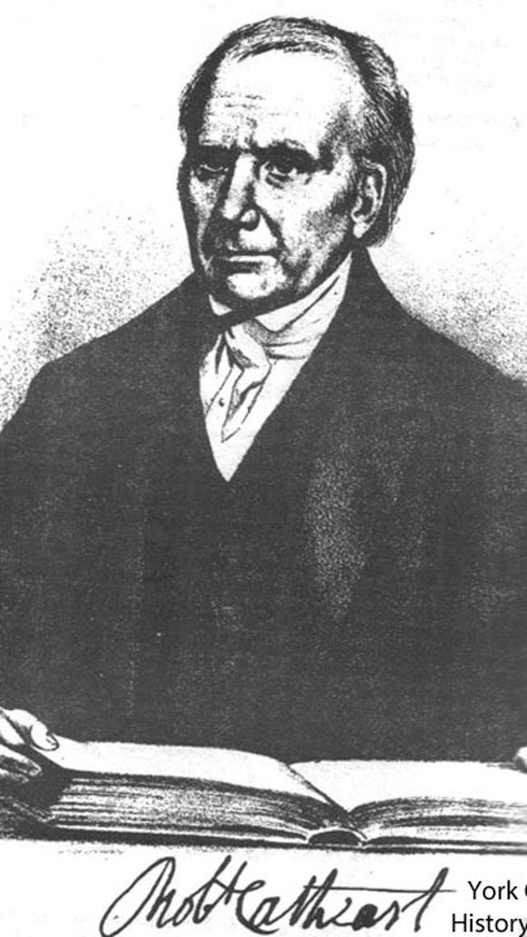 Rev. Dr. Robert Cathcart (from Gibson's 1886 History of York County)