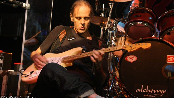 """""""A Tribute to Walter Trout"""" show on Sunday will not feature the blues artist (shown) as he is recovering from surgery, but it will feature his protege Danny Bryant and his son, Jon Trout."""