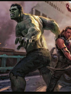 """The Hulk tops our list of greatest super-hero songs of all time with """"Nobody Loves the Hulk"""" by the Traits."""