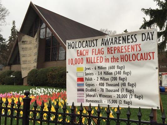Holocaust-banner