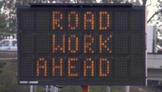 Lane closures planned for Jacks Branch Road.