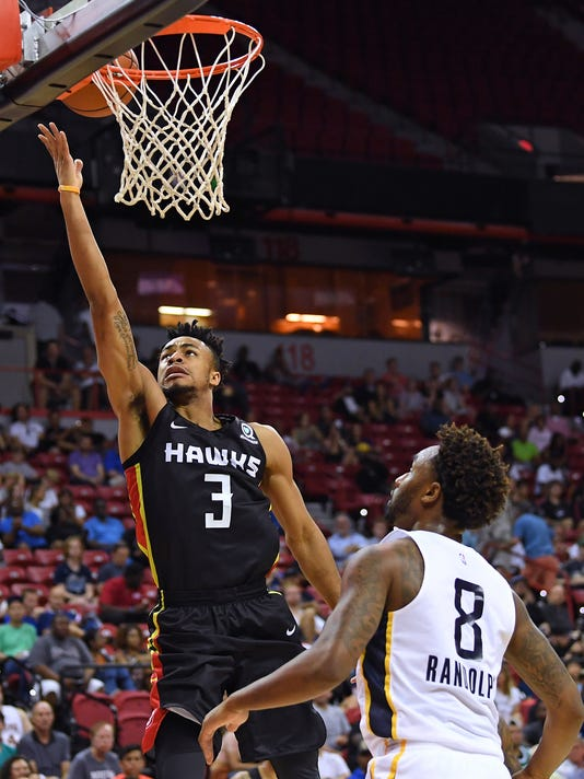 NBA: Summer League-Atlanta Hawks at Indiana Pacers