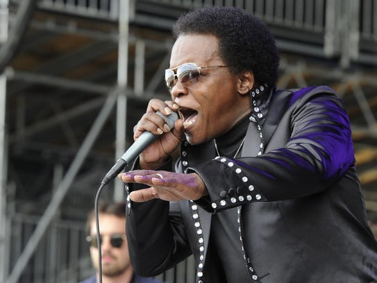 Lee Fields & The Expressions, pictured at the 2013