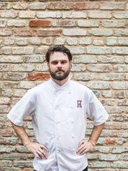 Jonn Buck, chef de cuisine for Husk Greenville.