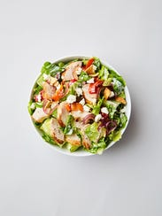 Kebab Cobb Salad is among the offering at Chopt, opening