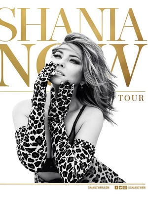 "Shania Twain announced her tour dates for ""Now Tour."""