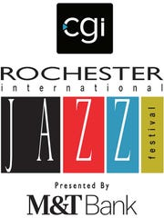 The new logo for the CGI Rochester International Jazz