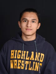 Mark Castellanos, Highland Wrestling