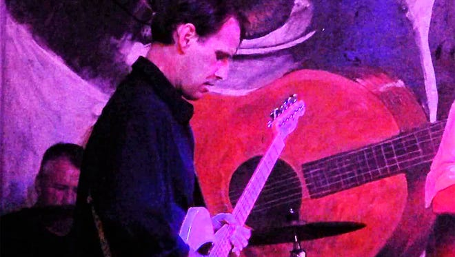 John Allender performs at the 2015 Blues Challenge qualifier in Naples