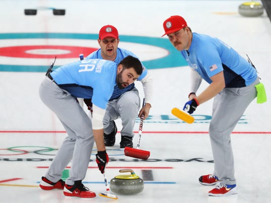 Curling - Winter Olympics Day 13
