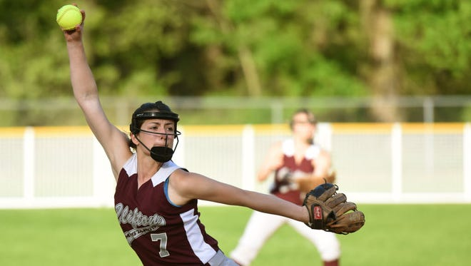 Madison Vellis is one of three pitchers who will lead the way for Clifton.