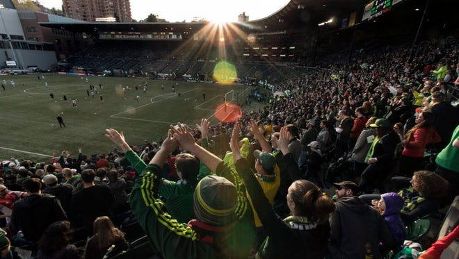 The Timbers have sold out 112 consecutive MLS games at their downtown stadium.