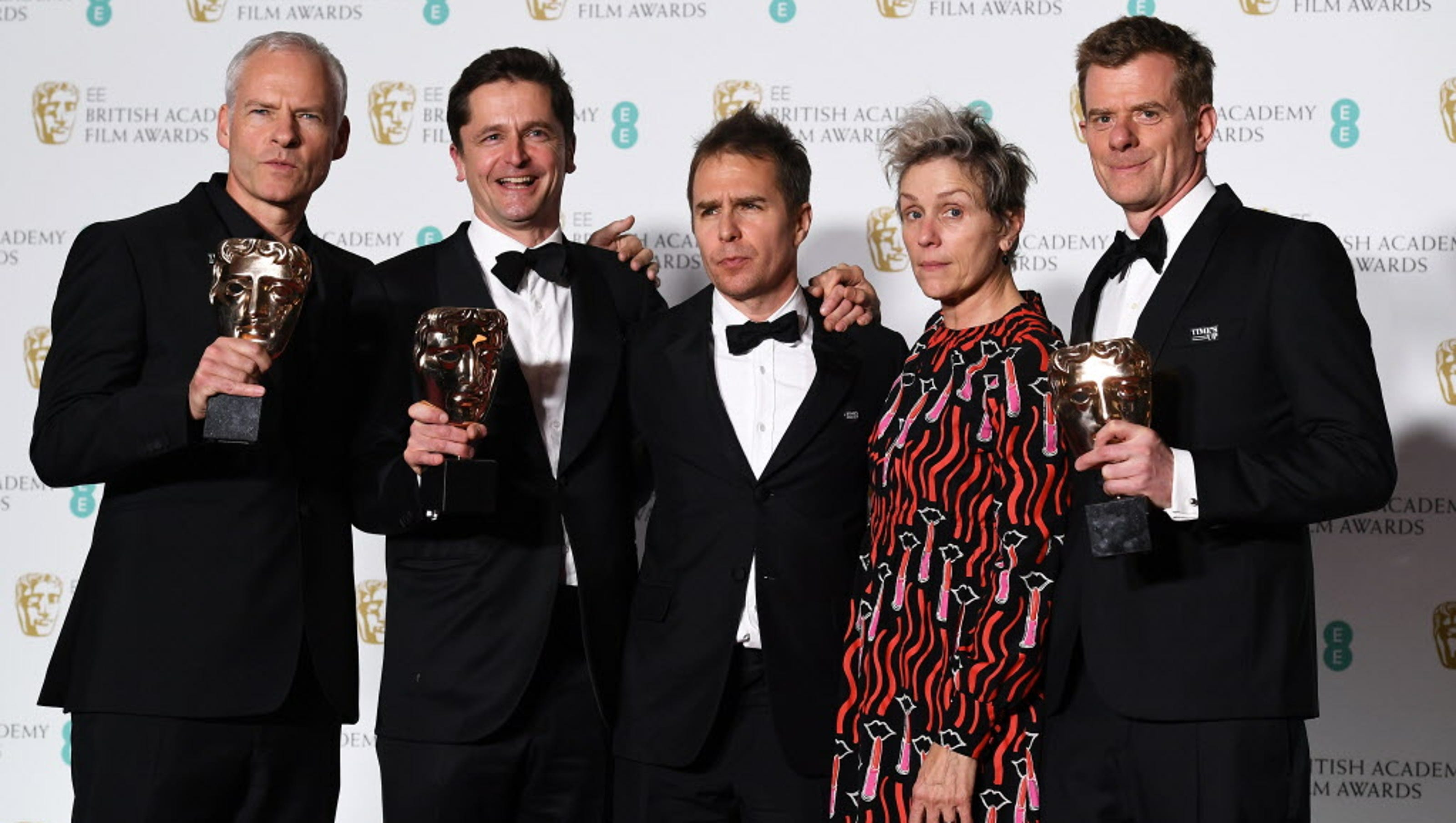 Bafta Awards: BAFTA 2018: 'Three Billboards' Wins, Women Make Waves At U