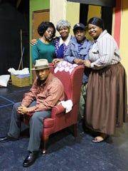 """The cast of Theatre Conspiracy's """"A Raisin in the Sun'"""