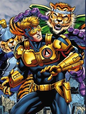 "Dan Jurgens' 25th-century superhero returns in ""Booster Gold: Futures End."""