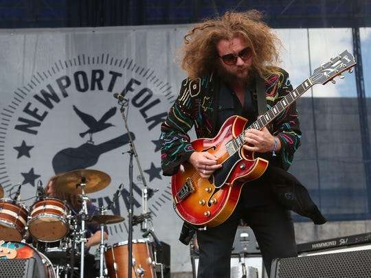 My Morning Jacket at Bryant Park on July 23, 2015 in