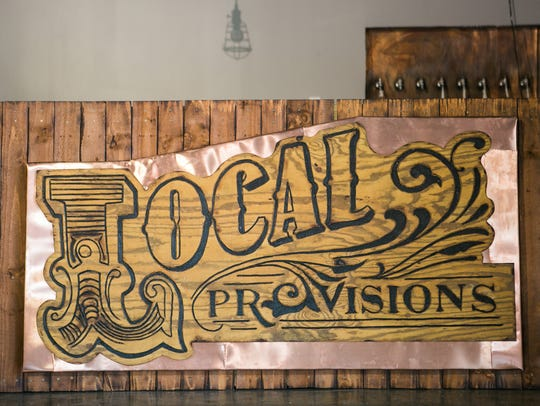 Local Provisions signage.