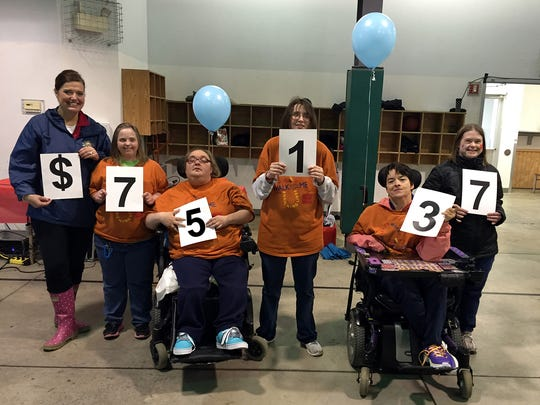 Easter Seals Iowa Walk With Me, aone-mile walk around Lake Cheerio in April,raised more than $75,000 to support individuals with disabilities in our community.