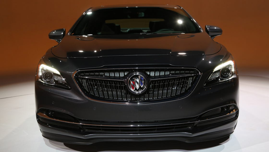 Buick S 2017 Lacrosse Unveiled In L A