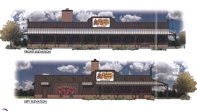 Cracker Barrel is coming to a space near the former JC Penney building in Salisbury.