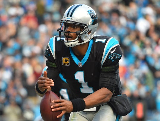 USP NFL: TAMPA BAY BUCCANEERS AT CAROLINA PANTHERS S FBN CAR TB USA NC