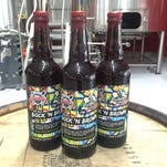 Badger State Brewing and Stillmank Brewing teamed up to create a barrel aged blend of a brown ale and bock using barrel's from Woodman's Market.